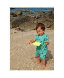 Kalila_Organics_icecream_playsuit_at_the_beach
