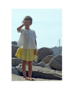 Kalila_Organics_Citrus_Skirt_Petal_Top_2_model