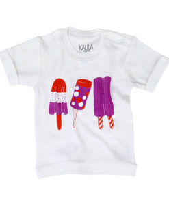 Kalila Organics_Tees_Lollies_White
