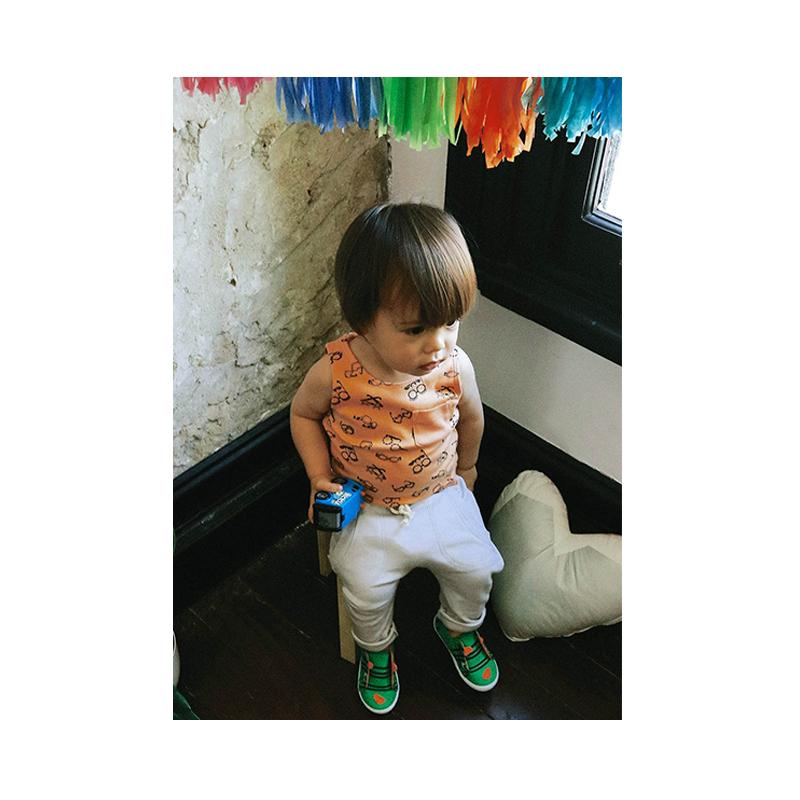 Kalila Organics Certified Organic Cotton Infant Baby Sunnies Leggings