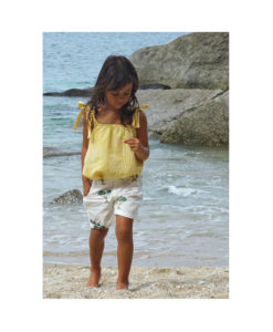 Kalila_Organics_Citrus_Cami_Palm_Shorts_model