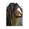Kalila_Organics_Citrus_Dress_model