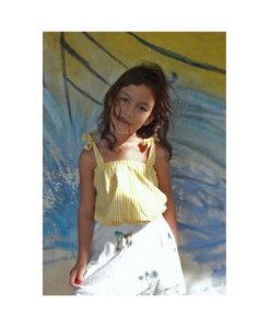 Kalila_Organics_Citrus_Skirt_Citrus_Cami_model